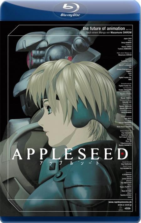 Яблочное зёрнышко / Appleseed / Appurushîdo (2004) BDRip