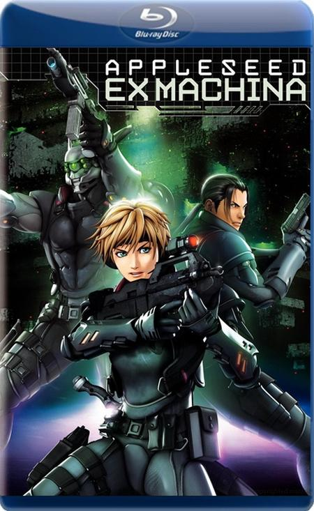 Яблочное зёрнышко 2 / Appleseed Saga: Ex Machina / Ekusu makina (2007) BDRip