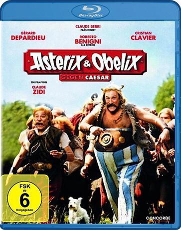 Астерикс и Обеликс против Цезаря / Astérix et Obélix contre César (1999) BDRip