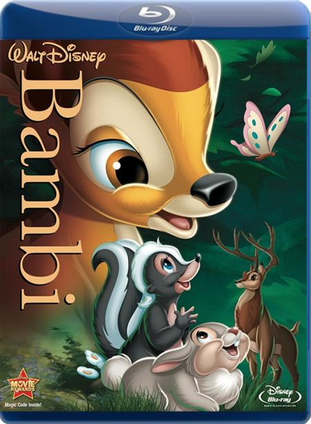 Бембі / Бэмби / Bambi (1942) BDRip