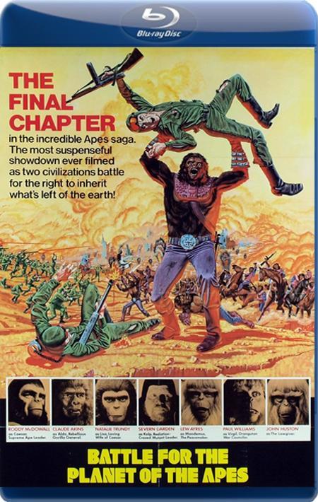 Битва за планету Мавп / Битва за планету обезьян / Battle for the Planet of the Apes (1973) BDRip