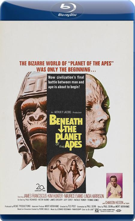 Під планетою Мавп / Под планетой обезьян / Beneath the Planet of the Apes (1970) BDRip