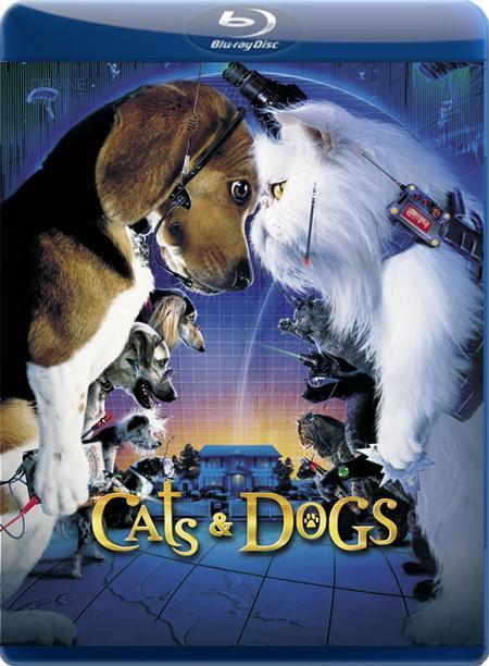 Коти проти собак / Кошки против собак / Cats & Dogs (2001) BDRip