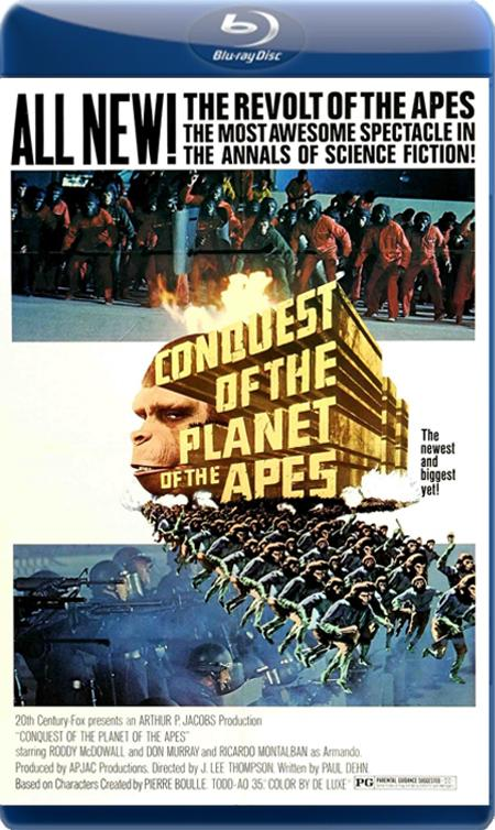 Підкорення планети Мавп / Завоевание планеты обезьян [Режиссерская Версия] / Conquest of the Planet of the Apes [Director's Cut] (1972) BDRip