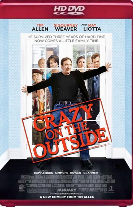 Сумасшедший на воле / Crazy on the Outside (2009) HDRip