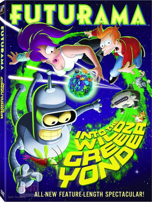 Футурама: В дикую зеленую даль / Futurama: Into the Wild Green Yonder (2009) DVDRip
