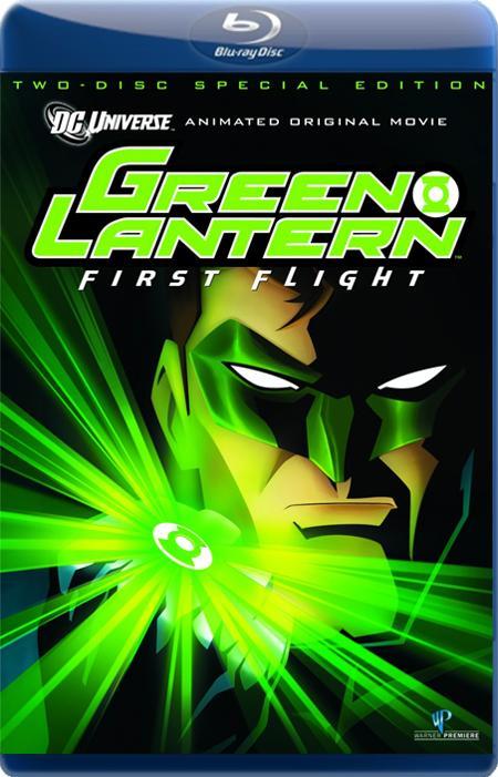 Зелёный Фонарь: Первый полет / Green Lantern: First Flight (2009) BDRip