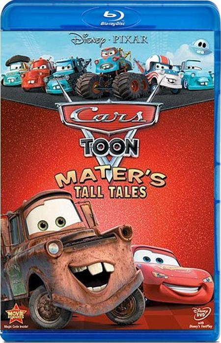 Тачки: Байки Мэтра / Mater's Tall Tales (2008-2010) BDRip