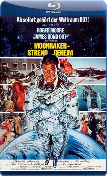 Місячний гонщик / Лунный гонщик / Moonraker (1979) BDRip