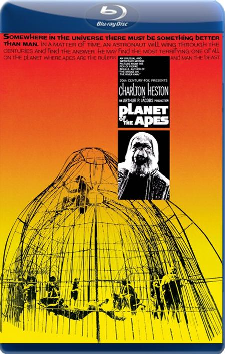 Планета Мавп / Планета обезьян / Planet of the Apes (1968) BDRip