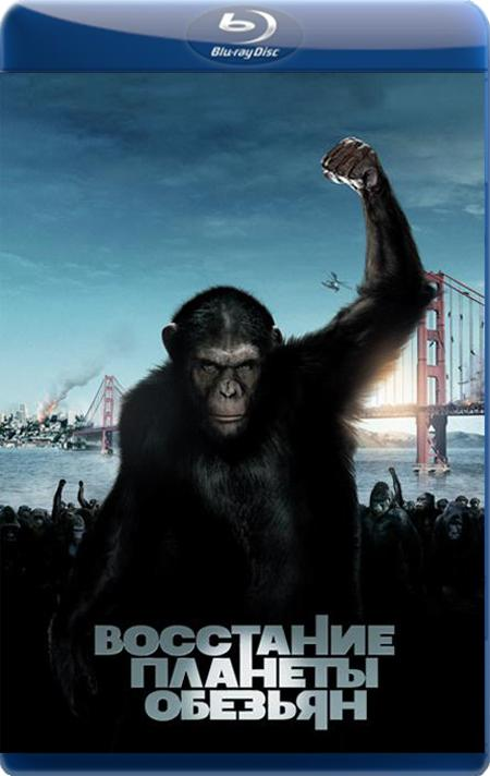 Повстання Планети мавп / Восстание планеты обезьян / Rise of the Planet of the Apes (2011) BDRip