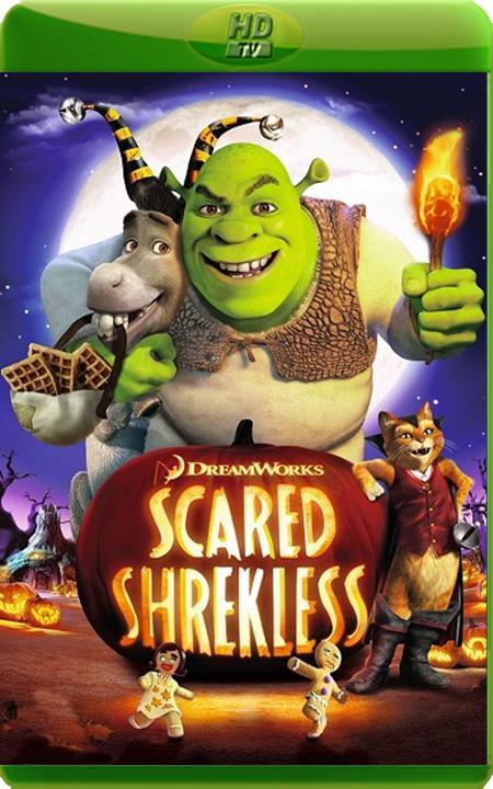 Обшрекатися від переляку / Шрэк: Хэллоуин / Scared Shrekless (2010) HDTVRip