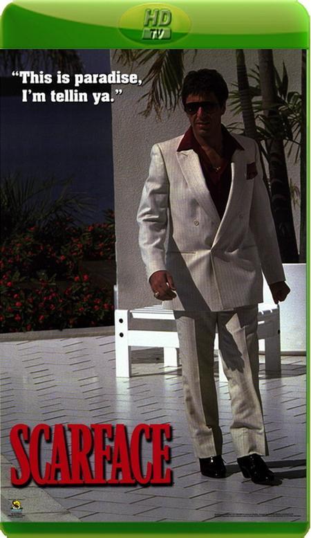 Обличчя зі шрамом / Лицо со шрамом / Scarface (1983) HDTVRip