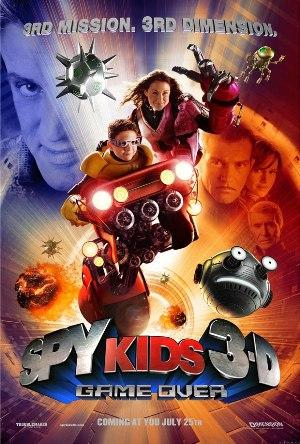 Дети шпионов 3: Игра окончена / Spy Kids 3-D: Game Over (2003) DVDRip