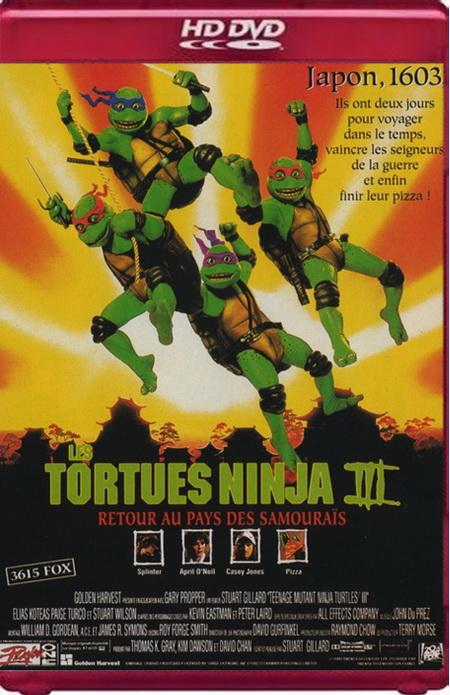 Черепашки-ниндзя 3 / Teenage Mutant Ninja Turtles III (1993) HDRip
