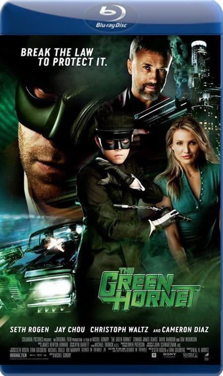 Зелений Шершень / Зелёный Шершень / The Green Hornet (2011) BDRip