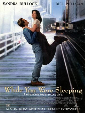 Пока ты спал / While You Were Sleeping (1995) DVDRip