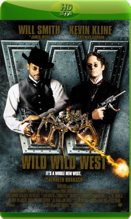 Дикий, дикий Вест / Wild Wild West (1999) HDTVRip Rus|Ukr