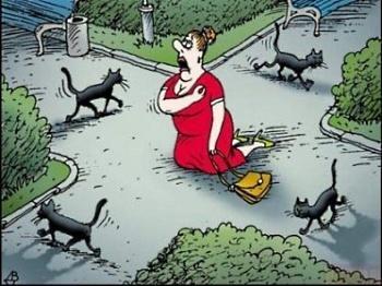 Какие суеверия у англичан?