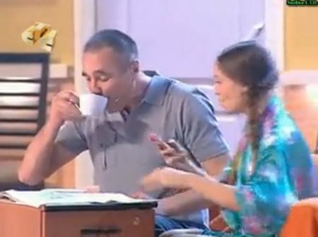 Отец и дочь: звонок ухажёра ;)