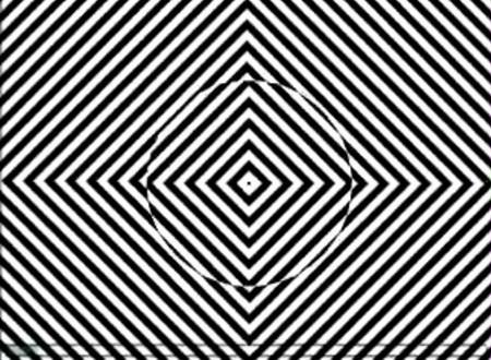 Иллюзия - Смотрите в центр 30 сек