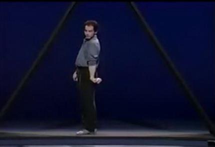 Жонглирование в треугольнике