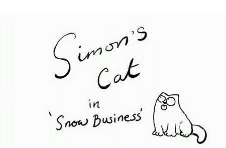 Simon's Cat 'Snow Business'