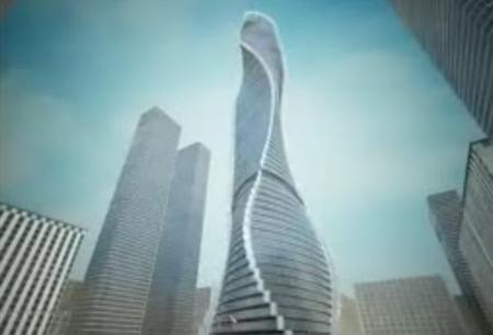 Небоскреб, который не стоит на месте (Дубаи)