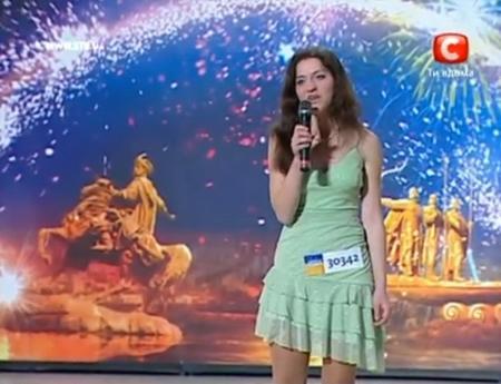 Звезда шоу талантов Нина Зубко