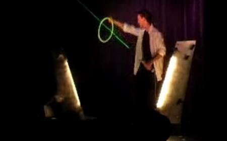 Трюки с лазером