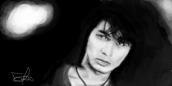 Виктор Цой - Нарисованное в Граффити