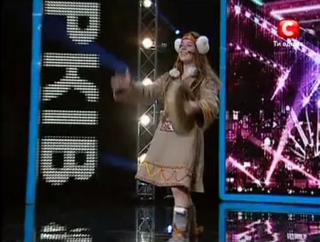 Азиза Ибрагимова стала одной из лучших в харьковском отборе шоу «Х-Фактор»