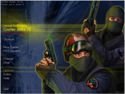 Counter-Strike 2D (b.0.1.1.6) последняя версия 11.11.2009