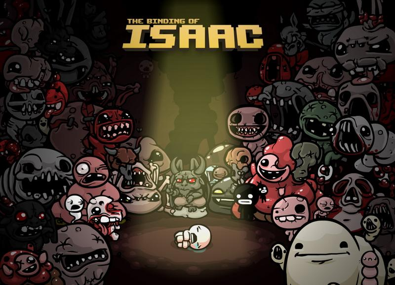The Binding of Isaac + Wrath of the Lamb DLC (2011) PC