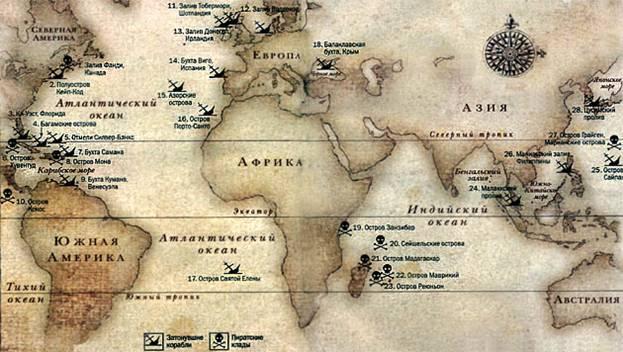Пиратские клады