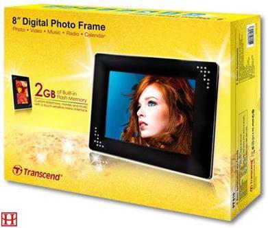 Цифровая фоторамка Transcend T.photo 810 Black (TS2GPF810K)