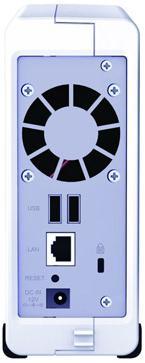 Сетевой накопитель (NAS) Synology Disk Station DS-107+