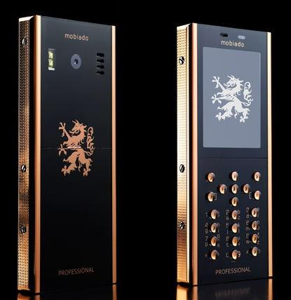 Mobiado представил новый золотой телефон Professional 105GCB Rose Edition (Фото: mobile-review.com)