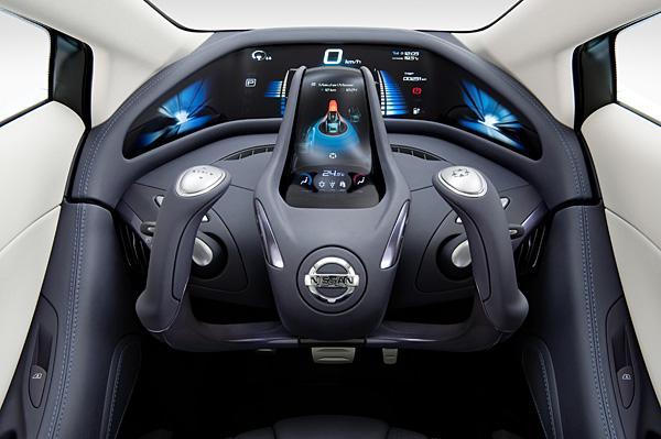 Nissan Land Glider - новый электро-концепткар