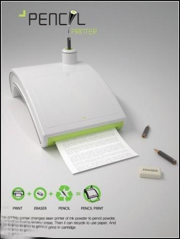 Принтер, который печатает... карандашами. Pencil Printer.