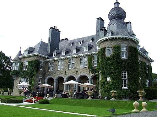 Спа - курорт для аристократов (отель Manoir de Lebioles)