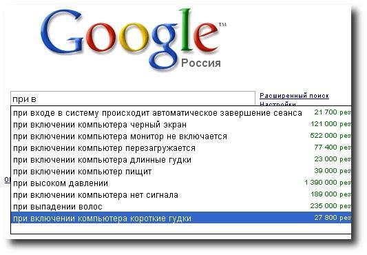 Google знает лучше нас! 033_UnusualRequestsToGoogle_180509_Go2LoadCOM