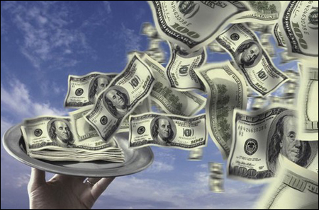Приманиваем денежки