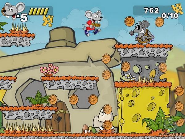 Приключения Мышонка - Mouse Boy