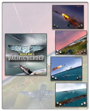 Portable World War II Pacific Heroes
