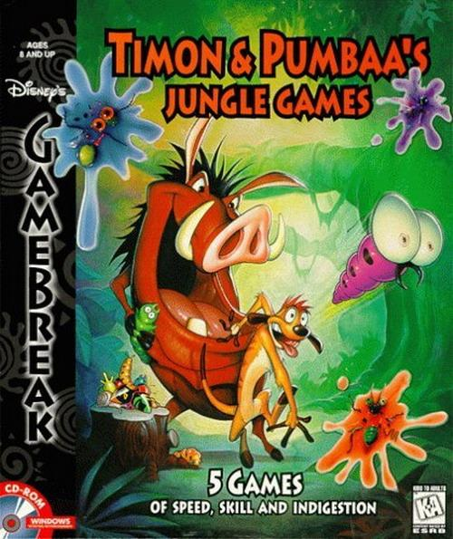 Timon Pumbaa's Jungle Games
