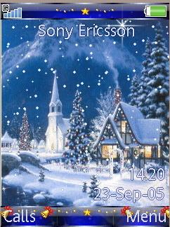 Тема для SonyEricsson 320x240 anim (-T-christmas)