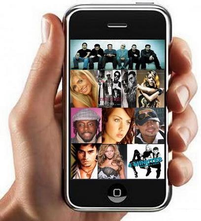 Лучшие mp3 хиты для мобильного 2008