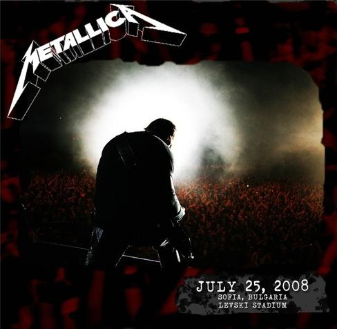 METALLICA - Live in Sofia (25.07.2008)