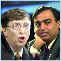 Индийский миллиардер Мукеш Амбани богаче Билла Гейтса